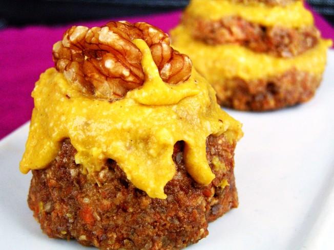 Moist Christmas Cake Recipe Jamie Oliver: Raw Carrot Cake With Mango Frosting