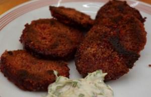 Rote Bete Schnitzel